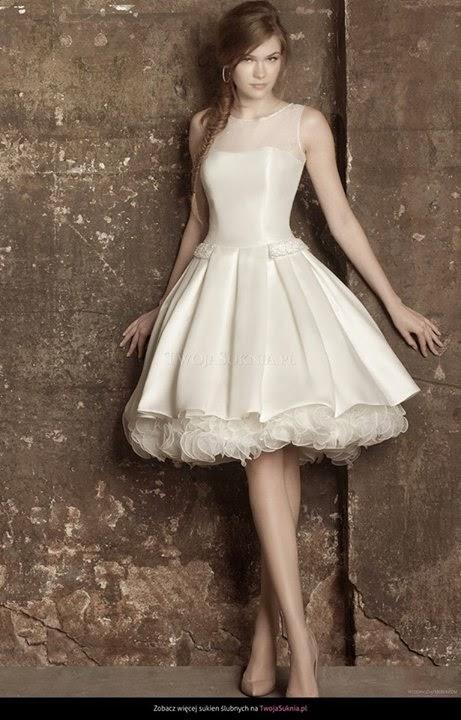 Rewelacyjny Niepoprawna Panna Młoda: Krótka sukienka do ślubu - czy to poważne? ME59