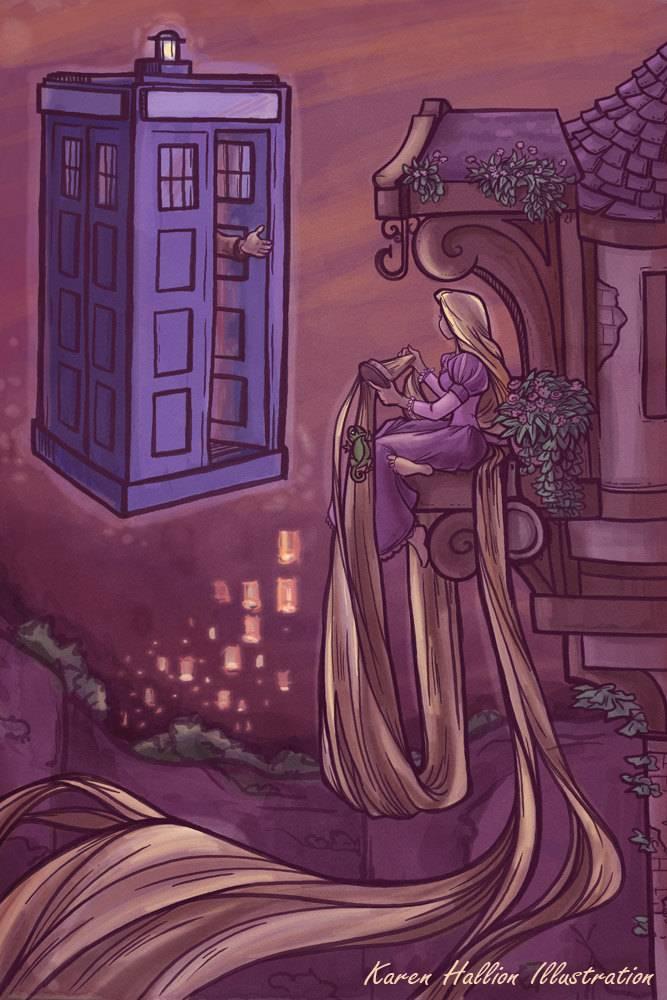Doctor Who Meets Disney: When Worlds Collide ~ Kuriositas