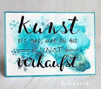 Kartenwind : Awesome Phrase Card Prototyp #moderncalligraphy #calligraphy #tombow #art #kunst #awesomephrasecard #lawnfawn #minisnowflakes #mixedmedia #snow #kartenwind