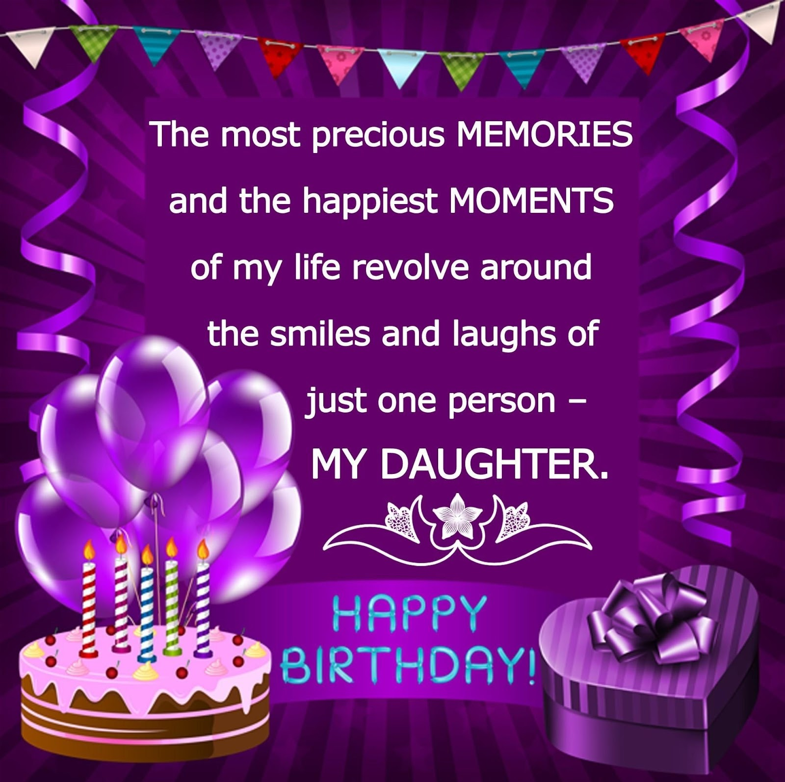 Happy Birthday To My Son Images And Quotes: ImagesList.com: Happy Birthday Daughter 2