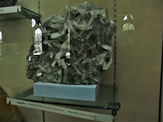 Calcita, Cornwall, Reino Unido, Museo Historia Natural de Londres