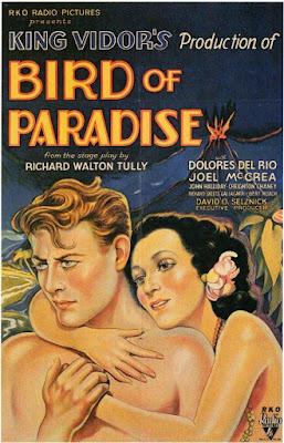 Portada película Ave del paraíso