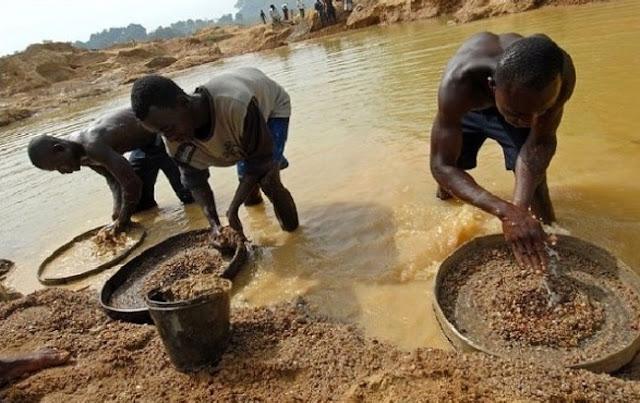 Penambangan berlian, Sierra Leone