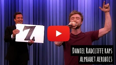 Watch how the Harry Potter star Daniel Radcliffe showcases his hidden talent for tongue twisting rap lyrics by performing Alphabet Aerobics by Blackalicious via geniushowto.blogspot.com celebrity music video