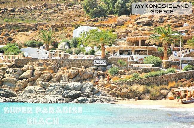 Super Paradise beach Mykonos island