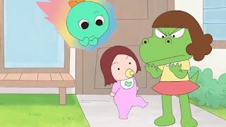 Netflix divulgou novas imagens e a data de estreia de Dino Girl Gauko