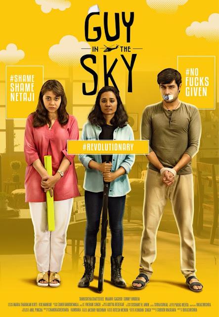 Guy in the Sky', HotStar, Poster, Web Film, Maanvi Gagroo, Sunny Hinduja, Tannishtha Chatterjee, directed by Bikas Mishra