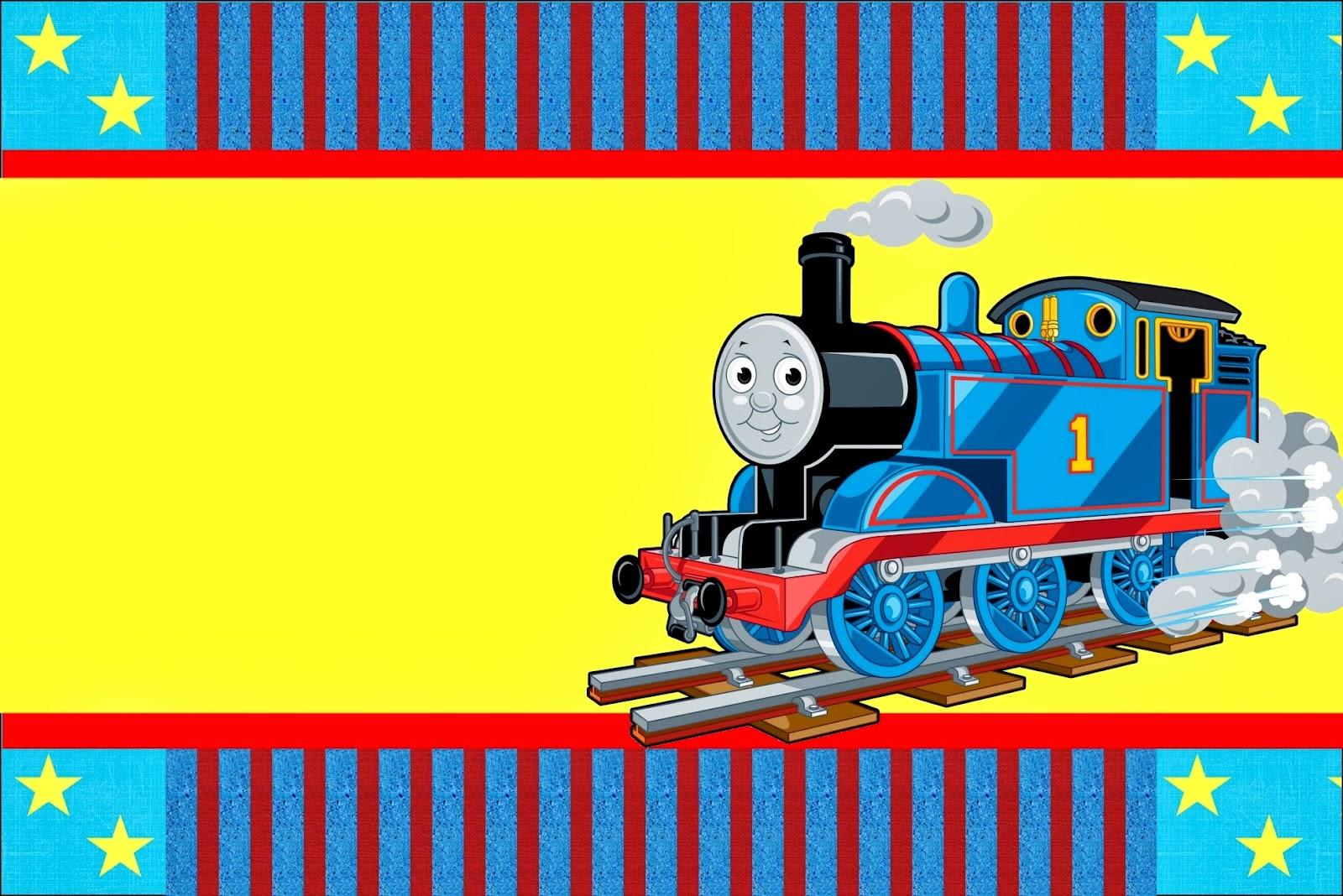 Tren Thom 225 S Invitaciones Para Imprimir Gratis Ideas Y