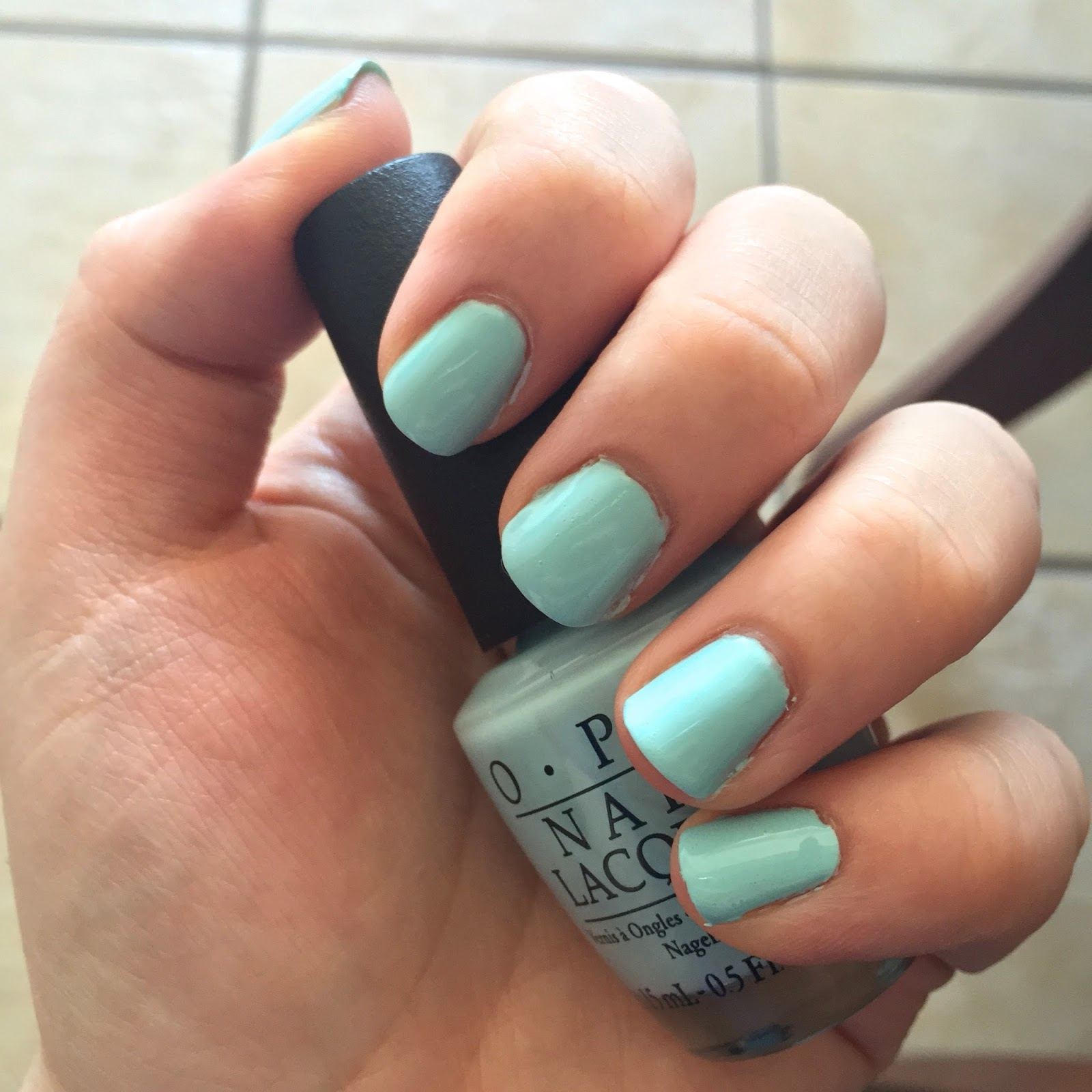 NOTD: OPI Gelato on my Mind