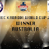 Host Australia wins Over Canada in Punvec Kabaddi World Cup 2018, Complete Results.