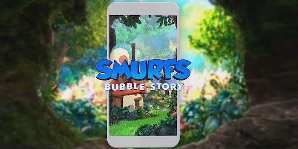 الآن تستطيع تحميل لعبة السنافر smurfs bubble story على هاتفك الاندرويد مجاناً