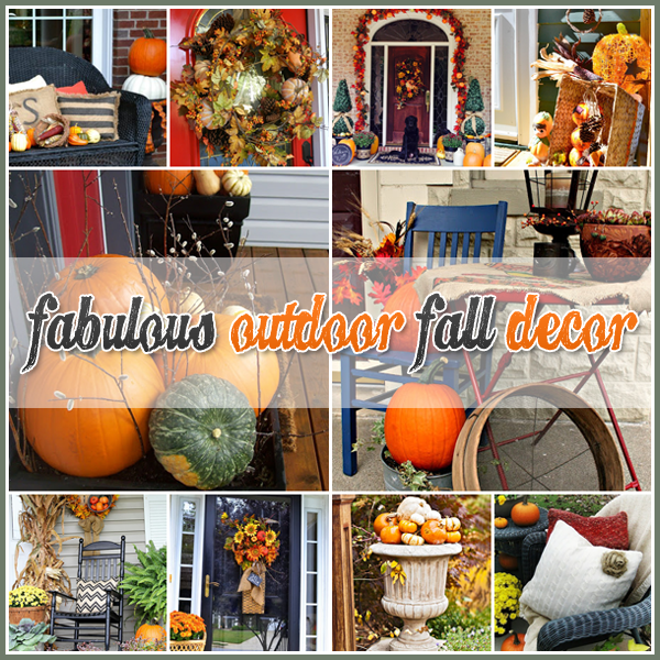 Autumn Yard Decorations: 25+ Outdoor Fall Decor Ideas