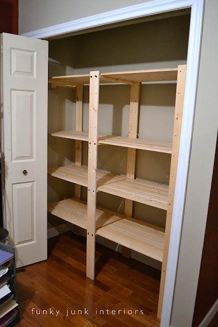 How to build an easy clothes closet from a 50 kitFunky
