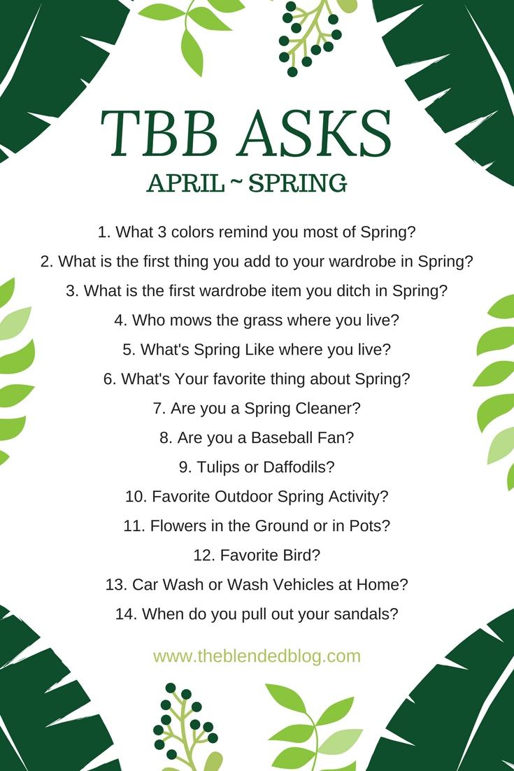 TBB Asks Spring