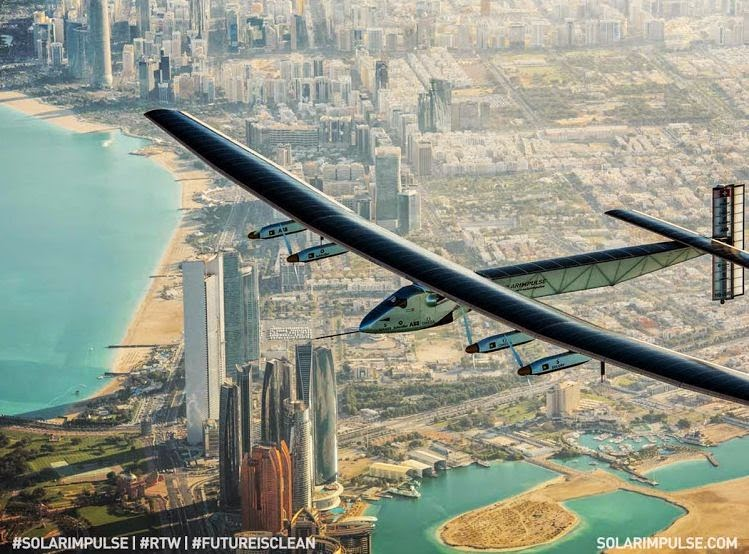 Solar Impulse 2 The First Solar Plane Journey Begins For World Record Mission
