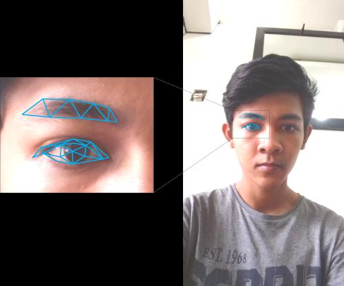 Line Art Wajah : Tutorial membuat low polygon vector art wajah di coreldraw