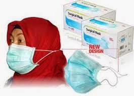 Masker Khusus Jilbab Mudah Dipakai