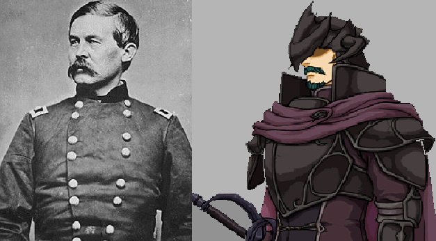 John Buford Union Civil War general and Bertram / Renning Fire Emblem: Path of Radiance