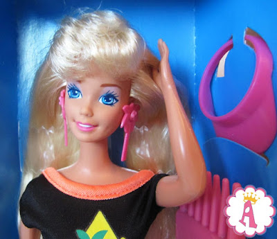 Кукла барби 90х (1993 года) длинные блестящие волосы