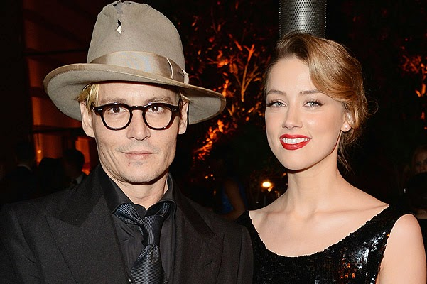 Johnny Depp and Amber Heard were married in the Bahamas