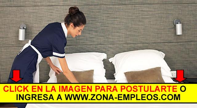 MUCAMAS/OS PARA HOTEL CON O SIN EXPERIENCIA