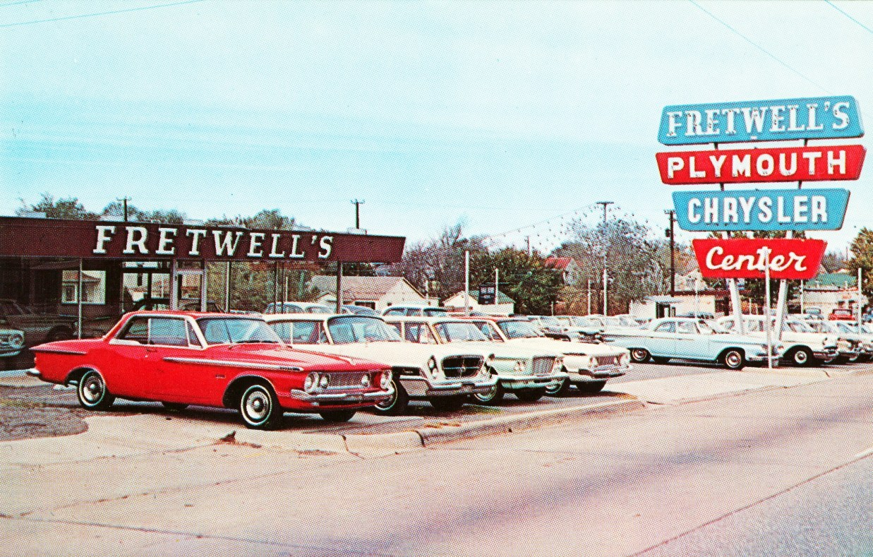 Classic Car Dealer: Speedboys: Vintage Postcard Car Dealer