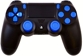 playstation 4 modded controllers ps4 mod controllers ps4 blue out playstation 4