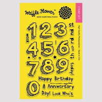 Sketchy Numbers Stamp Set
