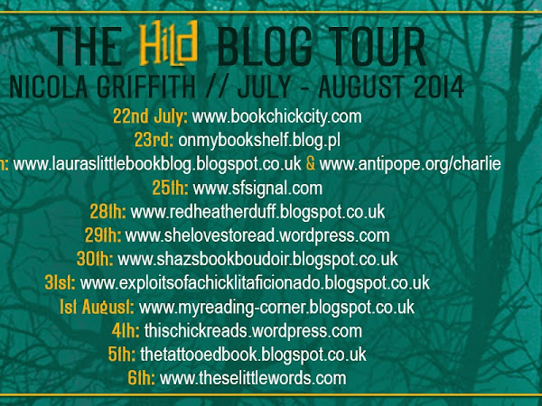 BLOG TOUR - Hild by Nicola Griffith