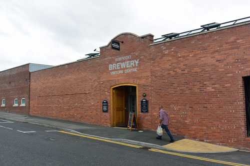 Robinson's Brewery Visitors Centre, Stockport, England