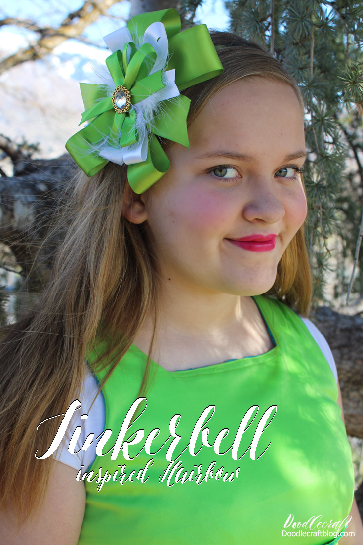 http://www.doodlecraftblog.com/2016/04/tinkerbell-princess-inspired-hairbow.html