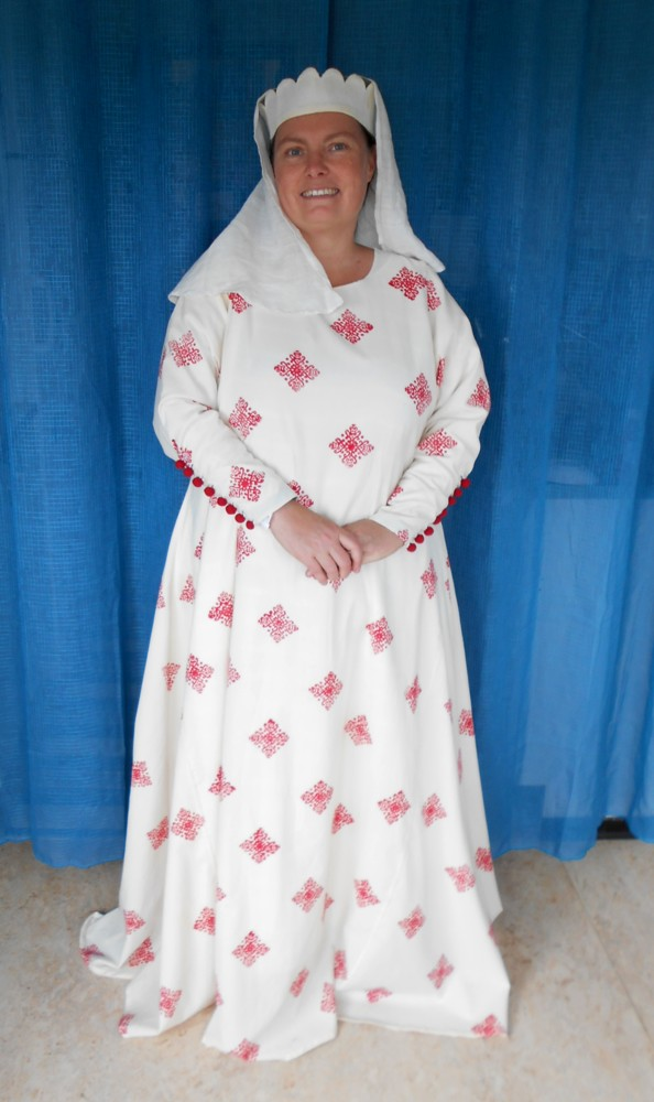 Eva's historical costuming blog: Two printed wool gowns from