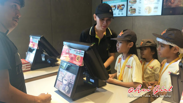 McDonald's Kiddie Crew Workshop Explorer Edition