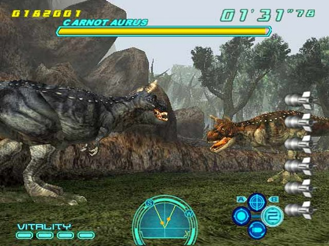 Dino Stalker PS2 GAME ISO Gameplay