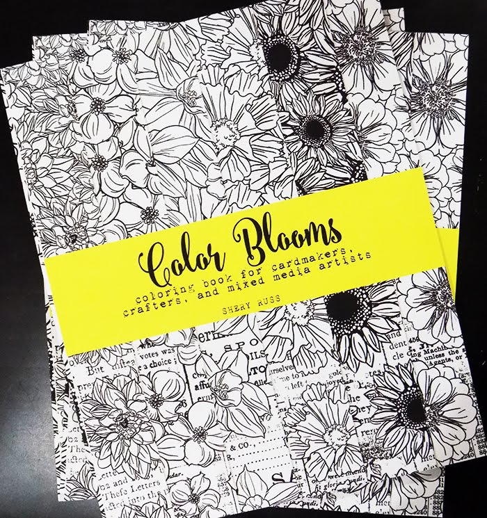 COLOR BLOOMS Coloring Book