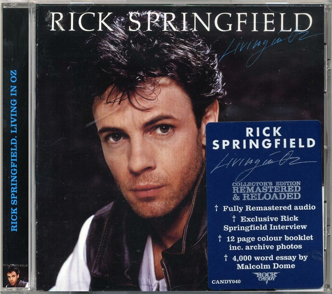 Rick Springfield Living In Oz Tour