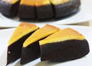 Kue Cokelat Karamel