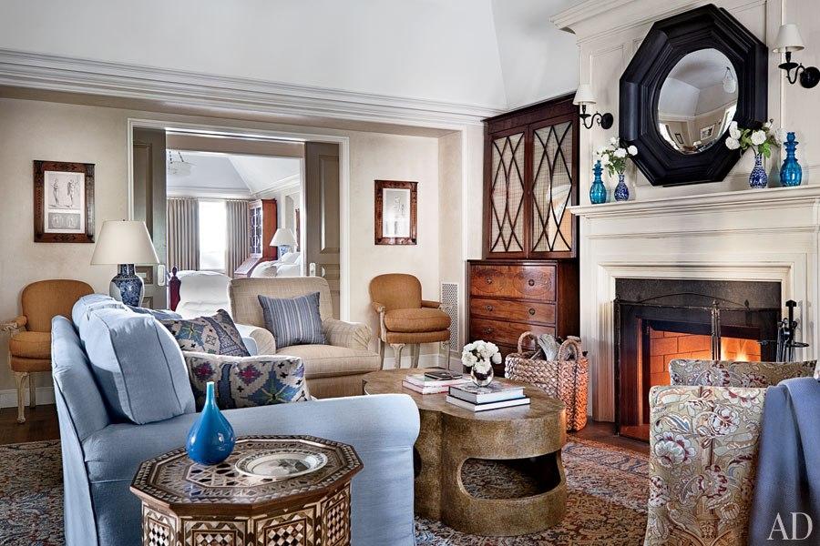 New Home Interior Design: Michael S. Smith Renovates a ...