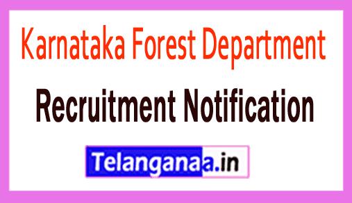 Karnataka Forest Department KFD Recruitment