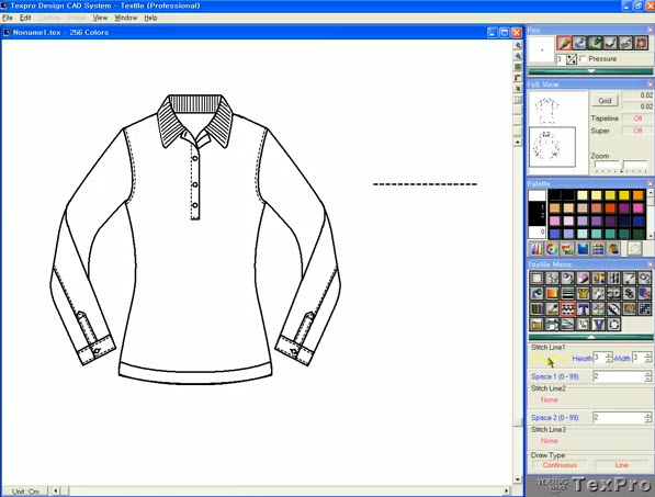 Program Design Clothing Fashion Design Software Drawing