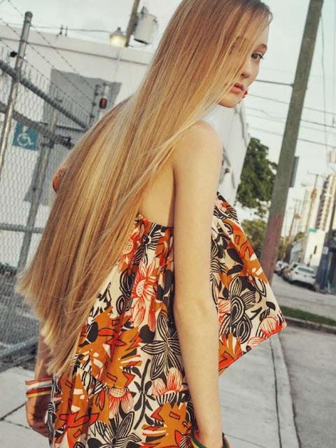 cabello extra largo 2018