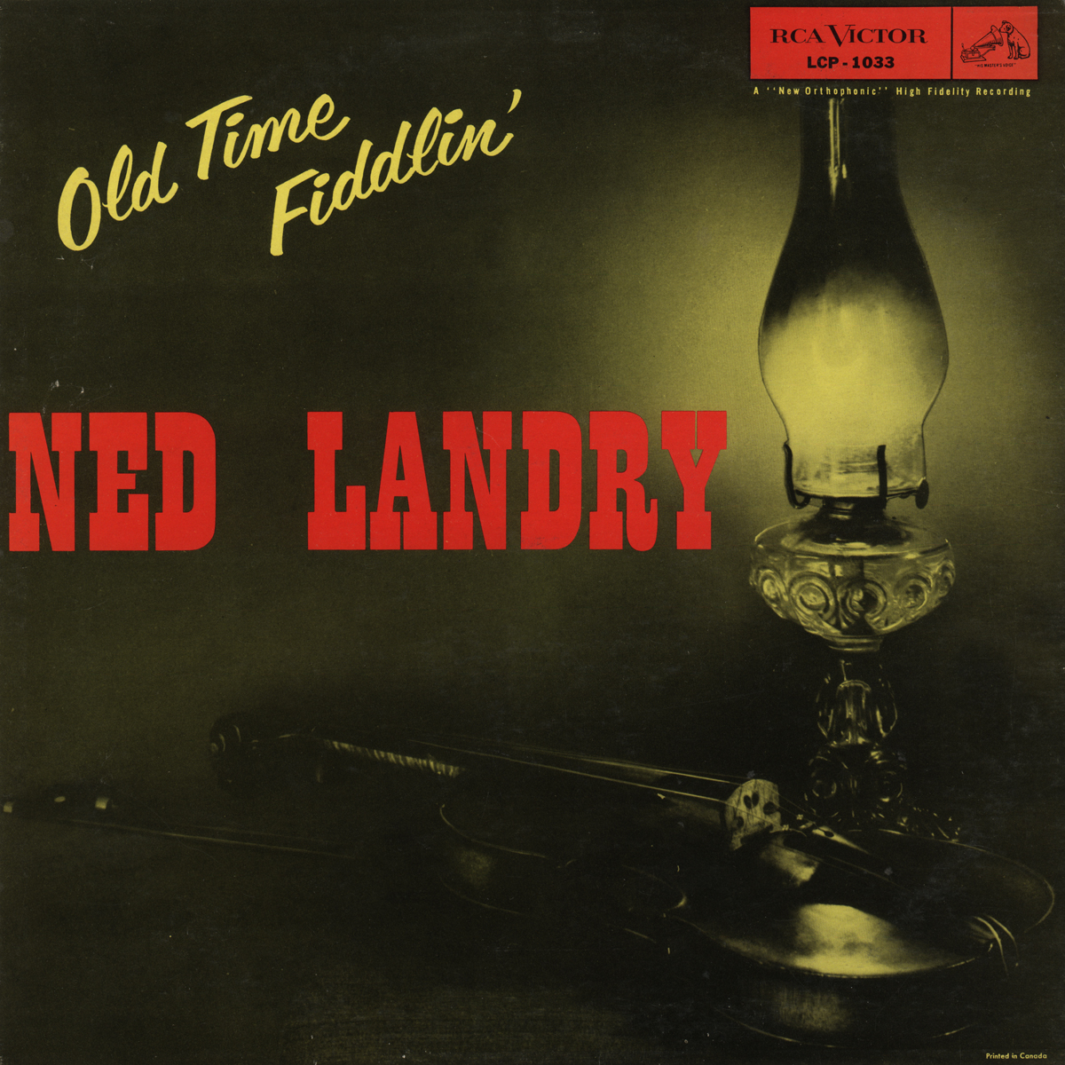 Ned Landry - Canada's Old Time Fiddling Champion
