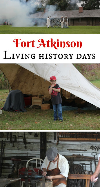 See why we love visiting Fort Atkinson's Living History Days in Nebraska every year. Check out dates and see photos of our family travel adventures!