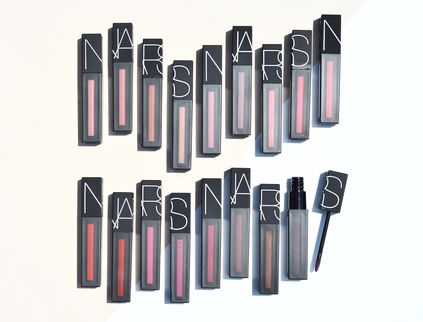 NARS Power Matte Lip Pigment Review Swatches