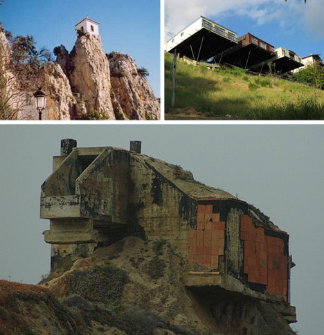 Precarious-clifftop-homes