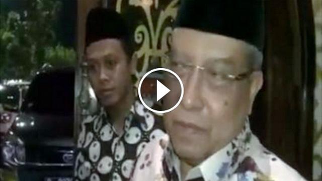 (Video) Ahok Salah Lagi Untuk Yang Kedua Kalinya, Said Aqil Tegaskan Warga NU Tak Pilih Ahok