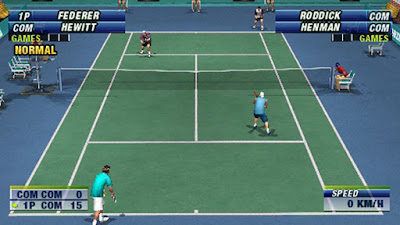 Download Super Pocket Tennis Europe Game PSP for Android - www.pollogames.com