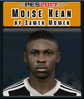PES 2017 Faces Moise Kean by Sameh Momen