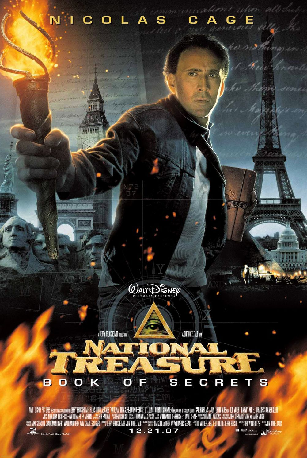 National Treasure: Book of Secrets (2007) ταινιες online seires oipeirates greek subs