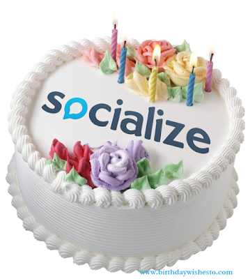 Socialize Birthday Cakes